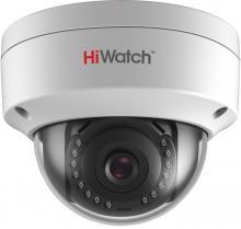 Уличная купольная IP-камера HiWatch DS-I102