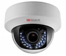 Внутренняя купольная HD-TVI видеокамера HiWatch DS-T107