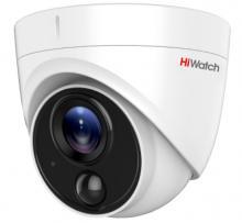 Уличная купольная HD-TVI видеокамера HiWatch DS-T513