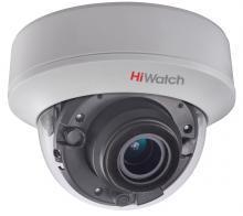 Внутренняя купольная HD-TVI видеокамера HiWatch DS-T507C